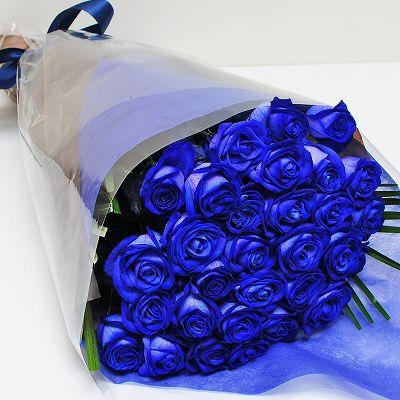 青い薔薇(バラ) ブルーローズ30...