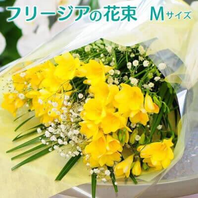 フリージアの花束 M〜2L